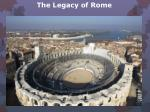 the legacy of rome9