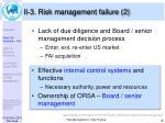 ii 3 risk management failure 2