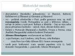historick mezn ky
