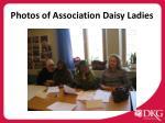 photos of association daisy ladies
