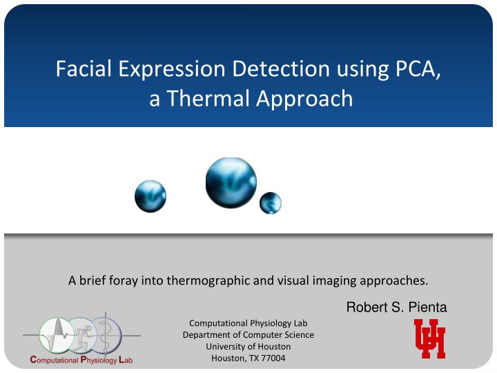 facial expression detection using pca a thermal approach n.