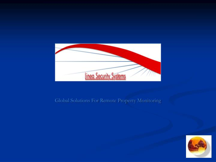 global solutions for remote property monitoring n.