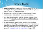 review model1