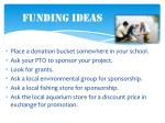 funding ideas
