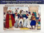 jean baptiste thiebault bonaparte touching the lepers in jaffa 11 march 1799 engraving from 1804 05