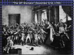 the 18 th brumaire november 9 10 1799