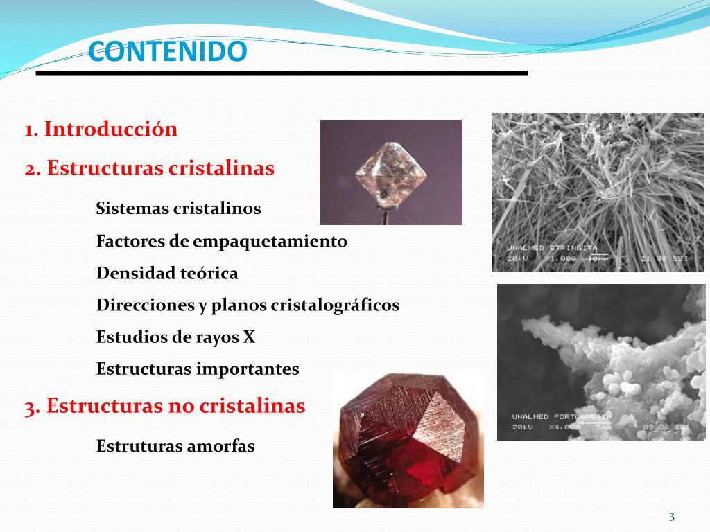 Ppt Clase 3 Ciencia De Los Materiales Powerpoint