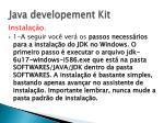 java developement kit2