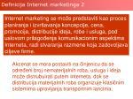 definicija internet marketinga 2
