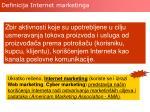 definicija internet marketinga