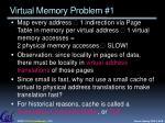 virtual memory problem 1