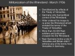 militarization of the rhineland march 1936