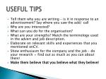 useful tips1