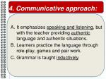 4 communicative approach
