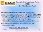 deutsche demokratische partei ddp die albert einstein partei
