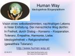 human way ideologiefreie b rgerplattform
