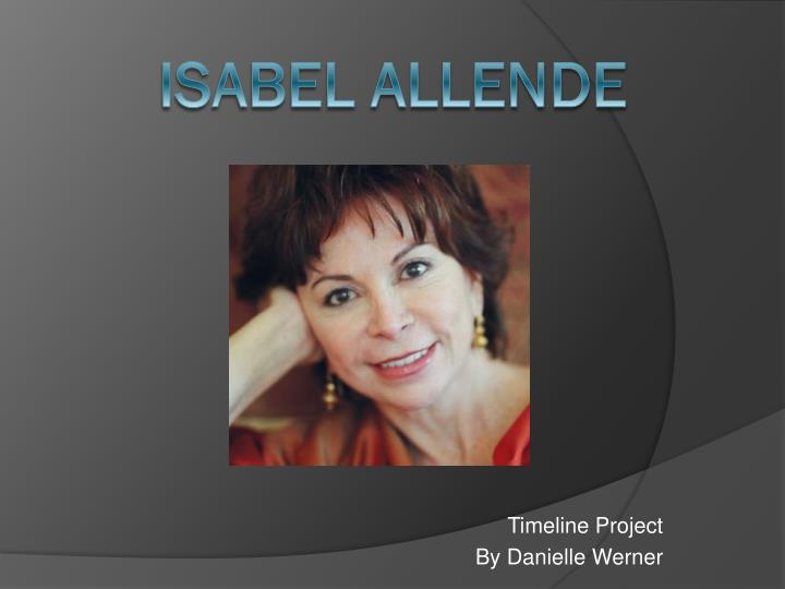 timeline project by danielle werner n.