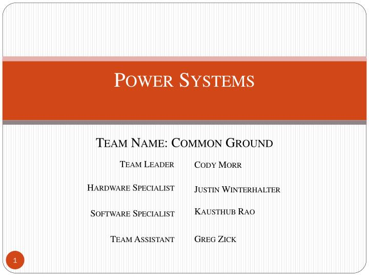 power systems n.