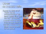 obras de evaristo valle
