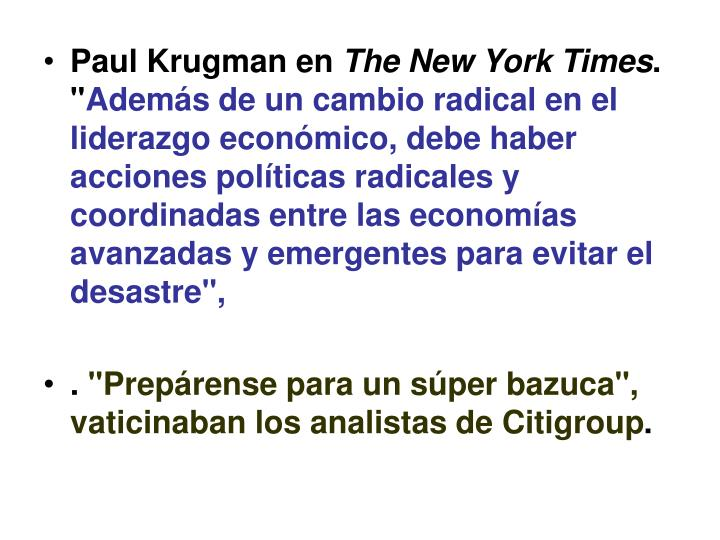 Paul Krugman en
