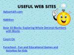 useful web sites