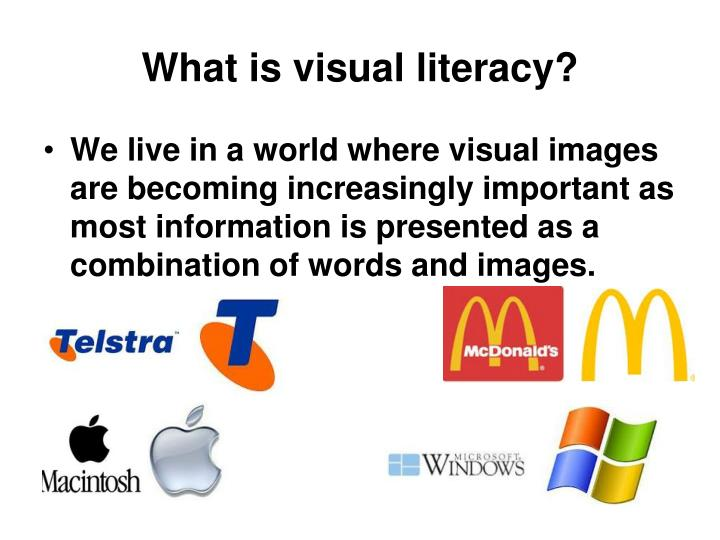 What is visual literacy