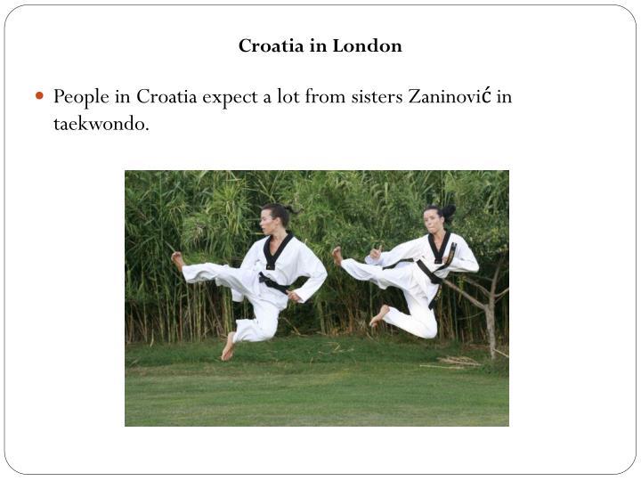 Croatia in London