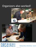 organizors also worked