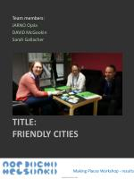 title friendly cities
