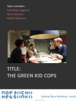 title the green kid cops