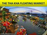 the tha kha floating market
