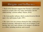 origins and influence