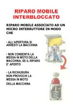 riparo mobile interbloccato