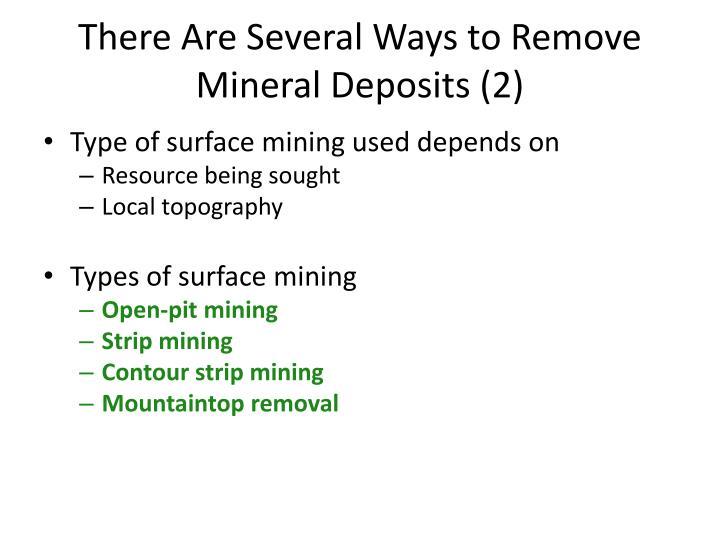 Remove Mineral Deposits - Nanatran.com