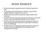 anchor standard 4