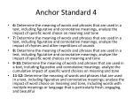 anchor standard 41