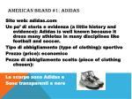 american brand 1 adidas