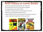 brief history of comic books