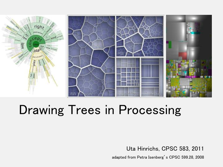 drawing trees in processing n.