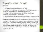 beyond limits to growth heinberg