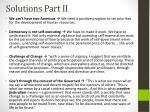 solutions part ii