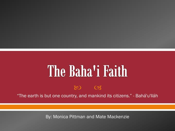 the baha i faith n.