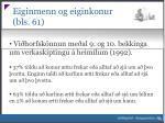eiginmenn og eiginkonur bls 61