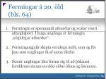 fermingar 20 ld bls 641