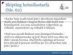 skipting heimilisstarfa bls 621