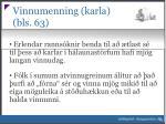 vinnumenning karla bls 63