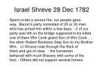 israel shreve 28 dec 17821