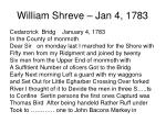 william shreve jan 4 1783
