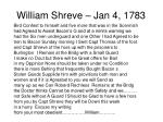 william shreve jan 4 17833