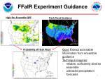 ffair experiment guidance